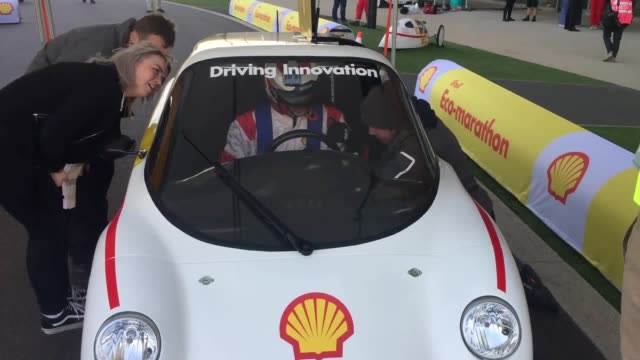 The Queen Elizabeth Olympic Park in east London will be transformed into a race track to find the most energy efficient cars Some 2300 students from...