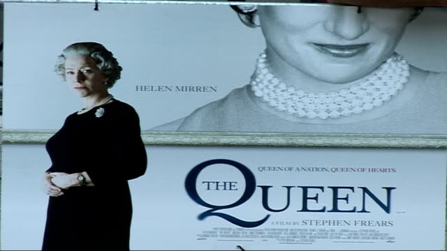 'The Queen' film premiere arrivals and interviews ENGLAND London Curzon Mayfair EXT **Intermittent flash photography throughout** Sylvia Syms...