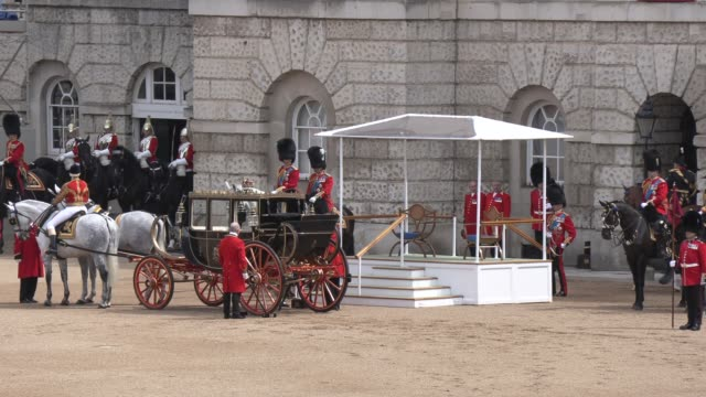 hm the queen on june 08 2019 in london england - colour image stock videos & royalty-free footage