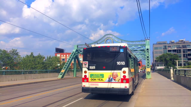 The Queen Street Viaduct carries vehicles and Toronto Transit Commission streetcars along Queen St East Architecturally the bridge is an example of a...
