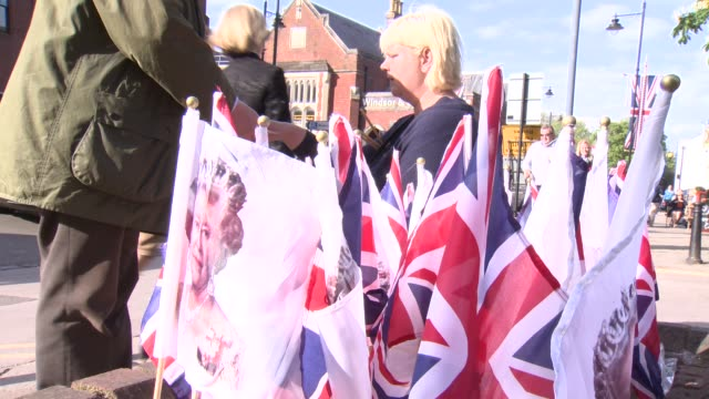 atmosphere the queens 90th birthday celebrations at windsor on may 15 2016 in london england - 90th birthday stock videos and b-roll footage