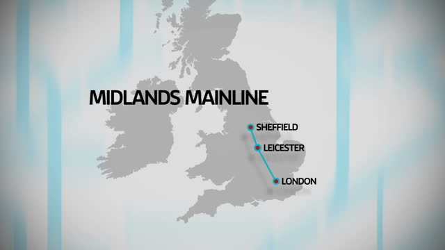 the rail network is getting it's biggest boost since victorian times with 9 billion pounds being injected into projects across england and wales... - 最大点の映像素材/bロール