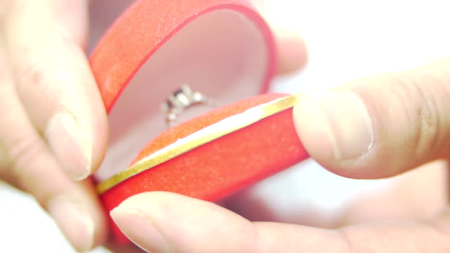 The red box wedding ring