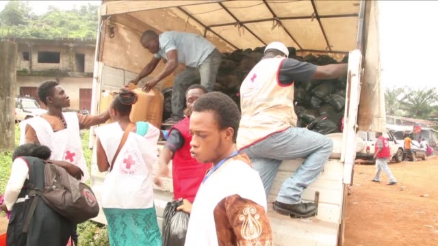 The Red Cross continues to help people in Freetown affected by the heavy rains that triggered the partial collapse of a hillside and engulfed entire...