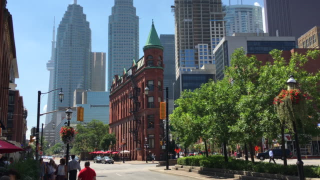 The redbrick Gooderham Building is a historic landmark of Toronto Ontario Canada located at 49 Wellington Street East It is an early example of...