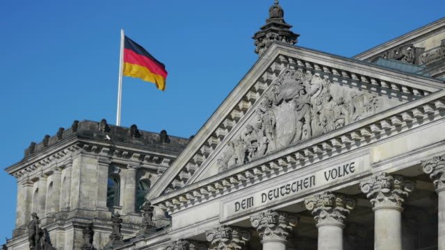the reichstag germany - the reichstag stock videos & royalty-free footage