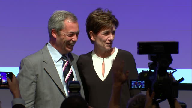 The relatively unknown MEP Diane James today won the contest to replace Nigel Farage as the leader of UKIP After gaining the support of just a...