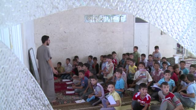 the relentless violence in syria has affected the start of the educational year, with activists saying few schools opened in flashpoint areas,... - ruined stock videos & royalty-free footage