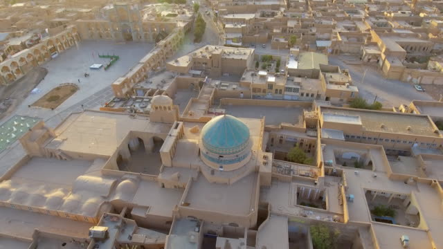 the remote desert city of yazd, iran. - david ewing stock videos & royalty-free footage