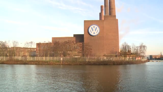 the reputation and global earnings of german car giant volkswagen have been seriously damaged in the wake of its global emissions cheating scandal - wolfsburg lower saxony stock videos and b-roll footage