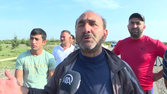 the residents of a village in an area of western azerbaijan under attack by armenia has asked for international help to end their suffering. israil... - plaque bacteria stock videos & royalty-free footage