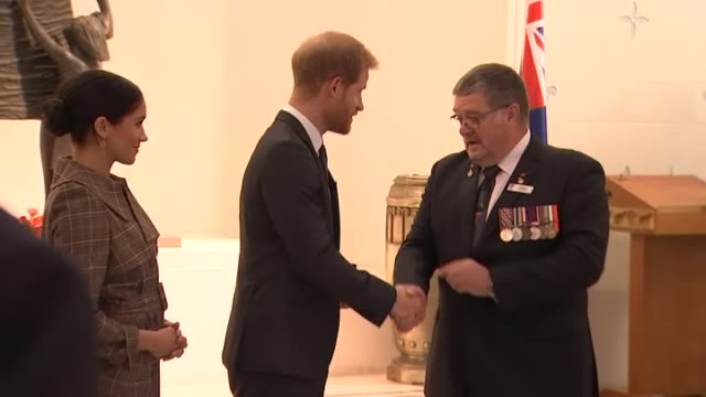 The Returned Services' Association presents Prince Harry with the Badge in Gold their highest honour given in recognition of his work with injured...