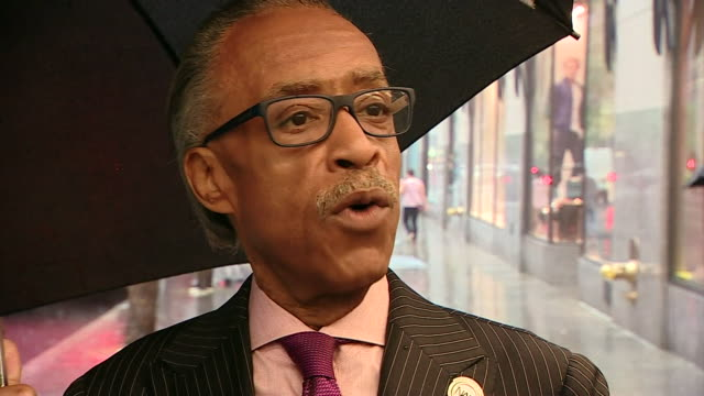 the reverend al sharpton offers his thoughts on the death of muhammad ali nnbw190t - al sharpton stock videos & royalty-free footage