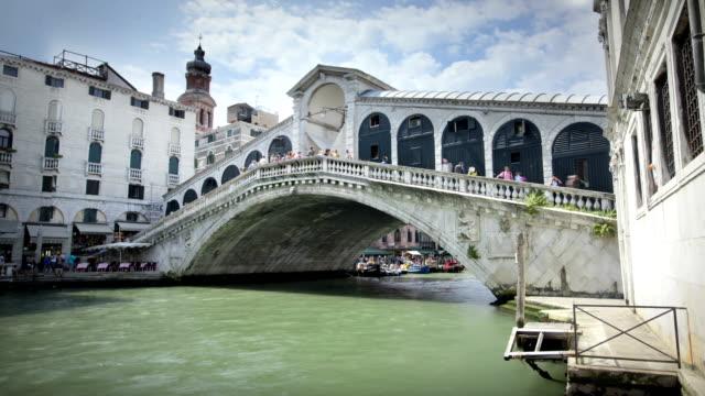 vídeos y material grabado en eventos de stock de el rialto bridge, venice, italy - puente de rialto