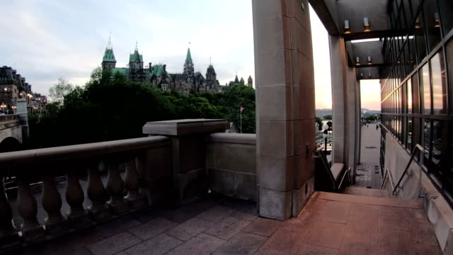 the rideau canal in ottawa - rideau canal stock videos & royalty-free footage