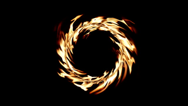 the ring of fire - alpha channel stock videos & royalty-free footage