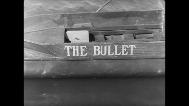 1927 the rival rowing team prepares for the race - scull stock videos & royalty-free footage
