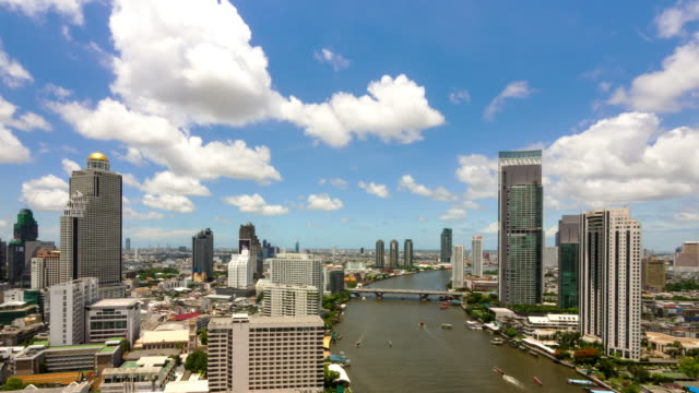 the river in bangkok - suspension bridge stock videos & royalty-free footage