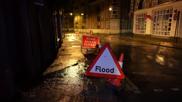 the river ouse in york floods as rain and recent melting snow raise river levels on january 21, 2021 in york, england. storm christoph is the first... - river ouse stock videos & royalty-free footage