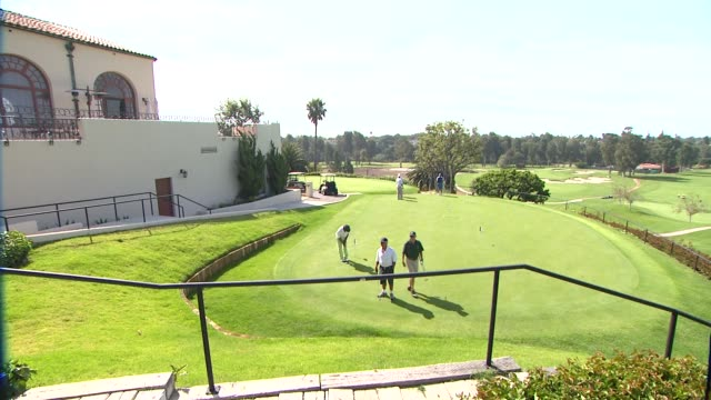 the riviera country club at northern trust open selects city of hope as official charity atmosphere the riviera country club at northern trust open... - pacific palisades stock videos & royalty-free footage