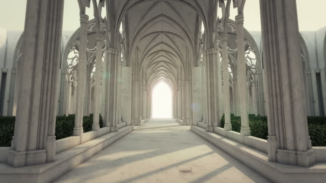 the road to eternity v - arch architectural feature stock videos and b-roll footage