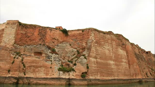 hd: the road to rumkale, halfeti 'time lapse' - circa 12th century stock videos & royalty-free footage