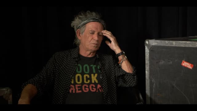 INTERVIEW The Rolling Stones on selecting what goes in to the exhibition at The Rolling Stones 'Exhibitionism' Interviews on July 01 2015 in London...