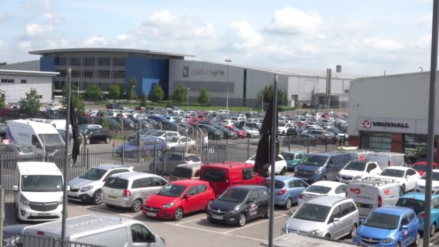 the rollsroyce plant in filton is pictured on june 15 2018 in bristol england rollsroyce announced plans this week to axe thousands of jobs as part... - rolls royce stock videos & royalty-free footage