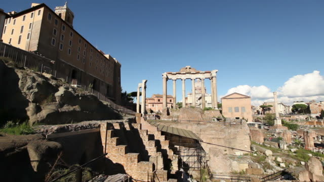 The Roman Forums in Rome