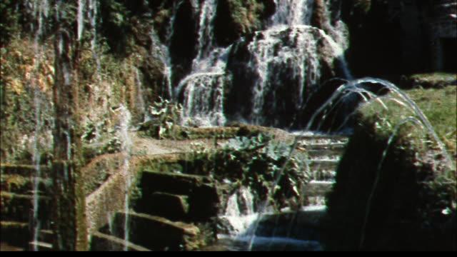 The Rometta Fountain, Fountain of Tivoli,  and Hundred Fountains in Italy's Villa d'Este invite tourists to make wishes.