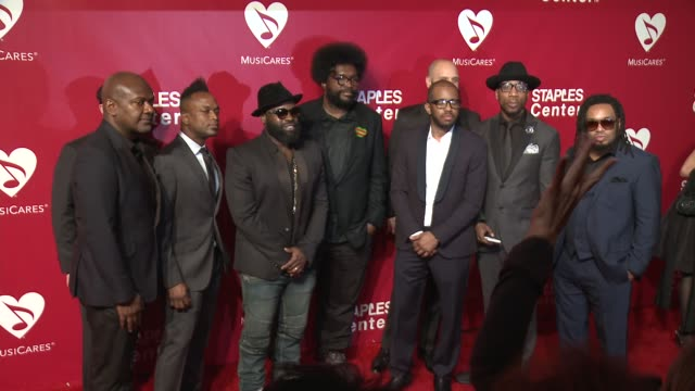 The Roots at the 2016 MusiCares Person of The Year Honoring Lionel Richie at Los Angeles Convention Center on February 13 2016 in Los Angeles...