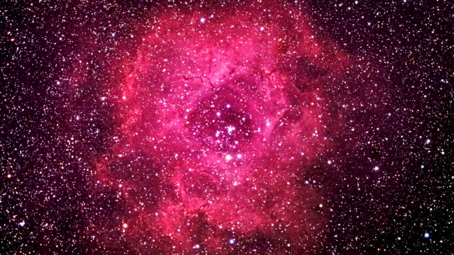 the rosette nebula - nebula stock videos & royalty-free footage