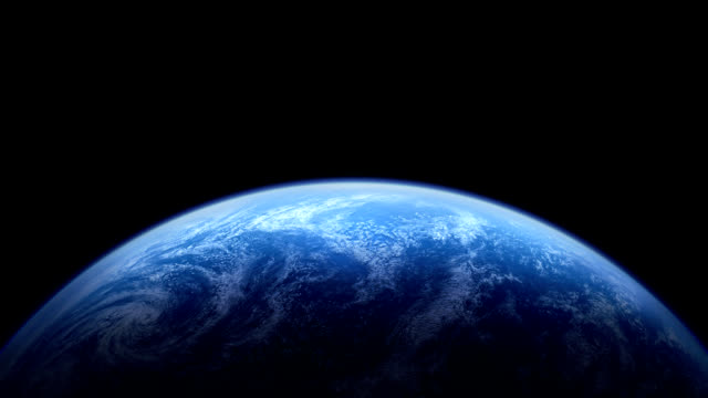 the rotating earth - pacific ocean stock videos & royalty-free footage