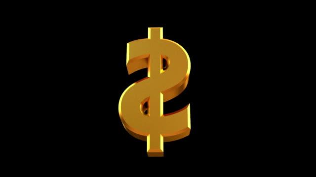 vidéos et rushes de la rotation de la sig avec masque de - symbole du yen