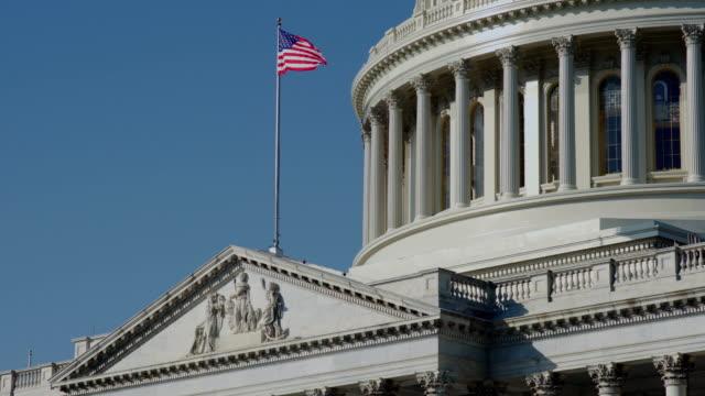 the rotunda of the capitol building, washington d.c, usa - rotunda stock videos & royalty-free footage
