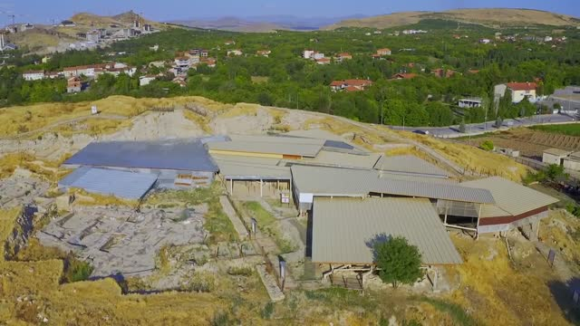 the roughly 7,000-year-old ancient mound of arslantepe in eastern turkey is now attracting 10 times more visitors after it was listed as a unesco... - add list stock videos & royalty-free footage