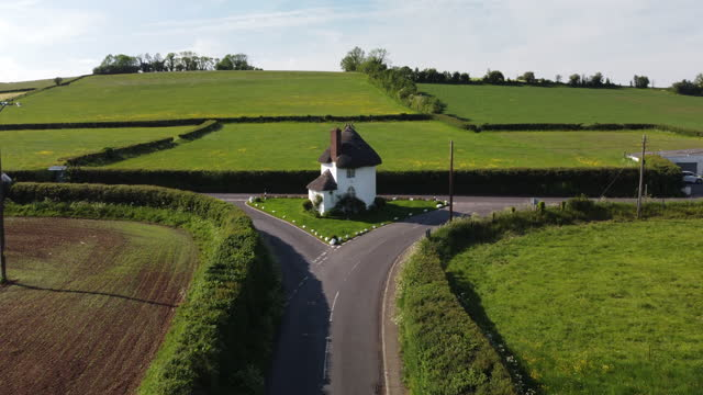 the round house also known as the toll house, stanton drew, somerset. - offbeat stock videos & royalty-free footage
