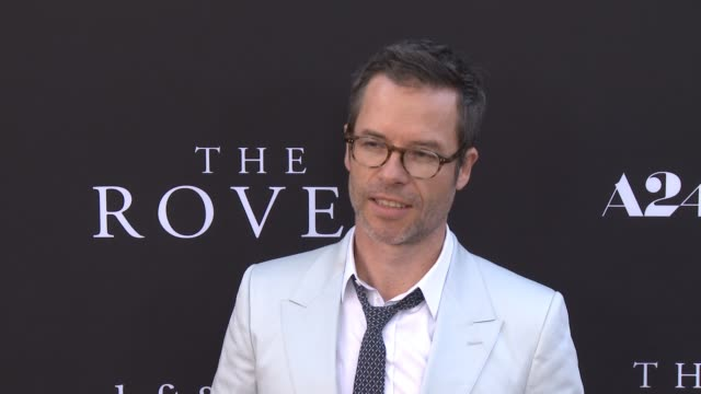 clean the rover los angeles premiere at regency bruin theatre on june 12 2014 in los angeles california - regency style stock videos and b-roll footage