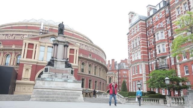 the royal albert hall in london uk on monday may 8 2017 - royal albert hall stock videos and b-roll footage
