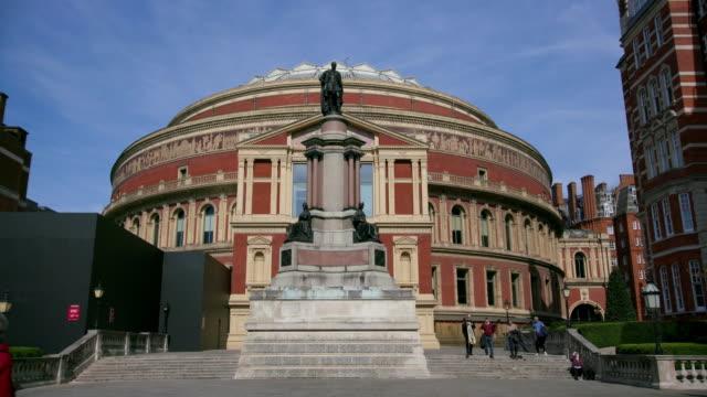 the royal albert hall kensington  london - royal albert hall stock videos & royalty-free footage