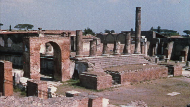 The ruins of Pompeii, Italy remind present and future generations of a generation past.