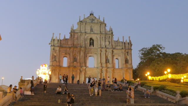 The Ruins of St. Paul's, Macau, China