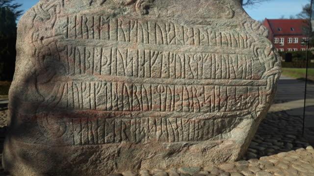 The runestones of Jelling, Denmark