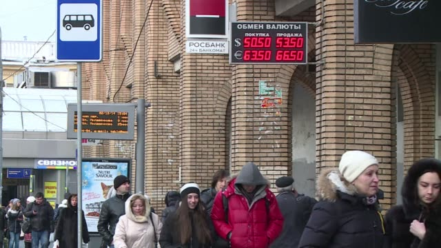 the russian economy ministry on tuesday slashed its economic forecast for 2015 announcing a contraction of 08 percent due to the pressure of western... - biological process stock videos & royalty-free footage