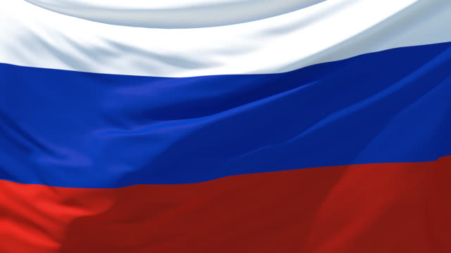 the russian flag fluttering in the wind - russian flag stock videos & royalty-free footage
