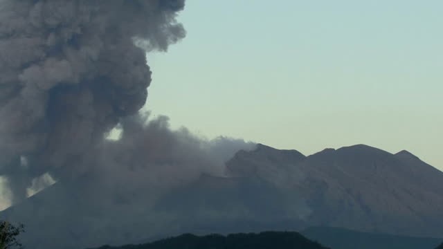 The Sakurajima volcano made a major eruption in the morning of February 8 the second such explosive eruption following the one on February 5 local...