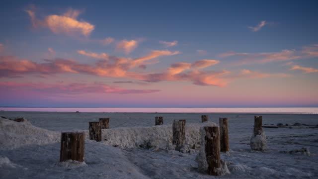 The Salton Sea - Day to Night Time Lapse