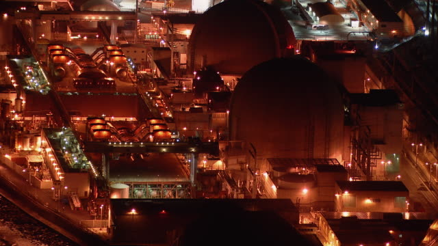 The San Onofre Nuclear Generating Station, a  power plant on the coast of San Diego County.