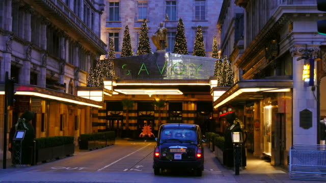 the savoy hotel, strand, london, england, great britain - public celebratory event stock videos & royalty-free footage