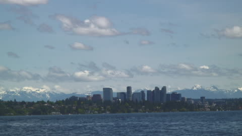 the scenery of the bellevue city - pierce county washington state stock videos & royalty-free footage